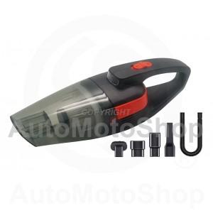 Auto putekļu sūcējs BEZVADU 3.8 kPa 60W akumulatora putekļusūcējs