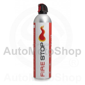F-klases Foam Fire Extinguisher 5A 21B 5F (alumīnija korpuss) 600ml