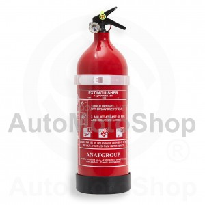 Portable Fire Extinguisher 13A89BC Powder 2kg (aluminium body)