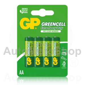 Battery GP Greencell R6 AA 4pcs
