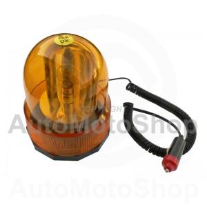 Flashlights Orange 12V. Signal: circular. Fastening: magnetic