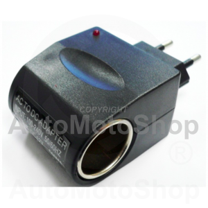 Adapter 220V to 12V Cigarette Lighter. 61518