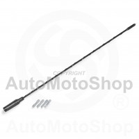 Car Antenna Pole 41cm with 4 adaptors 42905