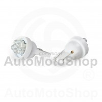 LED Auto Spuldze 12V T10 5W 4xdiodes (balts) 2gb 42173