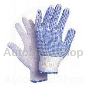 Knitted Work Gloves with vienpusēju punktējumu