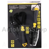 Triple Brush Set for bicycle and motorcycle Dunlop E02269