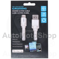 8pin (iPhone) 1m cable. Grundig E63382
