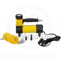 Compact Tire Air Compressor 100PSI 96W 12V 173x55x142. Dunlop