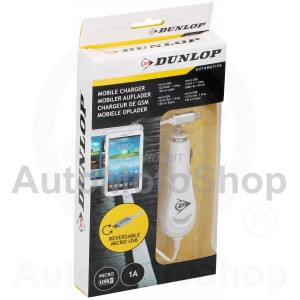 Mobile Phone Charger for Micro USB. Dunlop