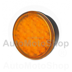 83mm Round LED Rear Direction Indicator Lamp - ECE 2BA 959 011-001 | Original Equipment HELLA