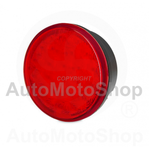 83mm Round LED Stop/Rear Position Lamp - ECE 2SB 959 010-001 | Original Equipment HELLA