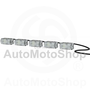 Daytime Running Light LED Hella LEDayFlex II + position light (LED) 2PT 980 789-051 | Original Equipment HELLA