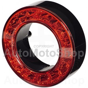 Combination Taillight lens red, 0,1 A, 24 V | Original Equipment HELLA: 2SB 009 362-011