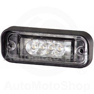 Licence Plate Light, 24 V fitting | Original Equipment HELLA: 2KA 010 278-017
