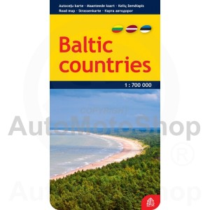 Karte Baltic countries 1 : 700 000