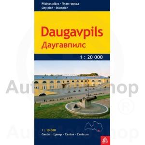 Karte Daugavpils 1 : 20 000