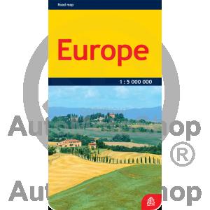 Karte Europe 1:5 000 000