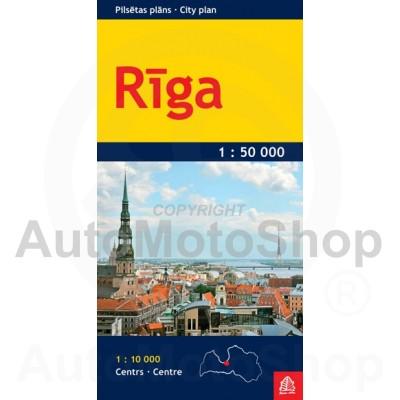 Karte Rīga 1:20 000