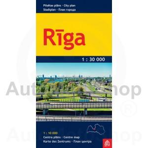 Karte Rīga 1:30 000