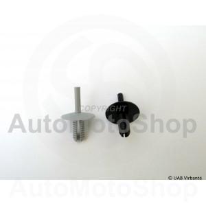 1gab (min.10gab) Auto apšuvuma stiprinājums spiedpoga AS351