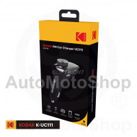 Auto Radio FM Bluetooth MIC 2x USB Micro SD AUX Audio Modulators Transmiter. Kodak UC111