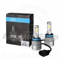 LED 12V H11 SUPERWHITE 6500K CANBUS KOMPLEKTS Auto Spuldze LSC11