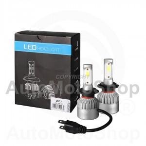LED 12V H7 SUPERWHITE 6500K CANBUS KOMPLEKTS Auto Spuldze LSC7