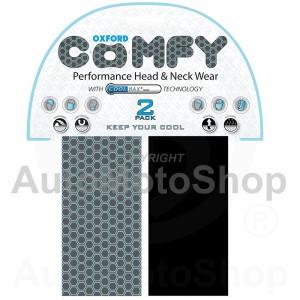 Moto kakla lakats Comfy Coolmax Honeycomb - 2 Paka Oxford NW406
