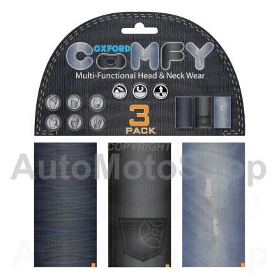 Moto kakla lakats Comfy Jeans 3 Paka Oxford NW125