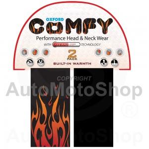 Moto kakla lakats Comfy Thermolite Flame - 2 Paka Oxford NW306