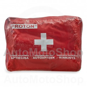 First Aid Auto Aid Kit in bag