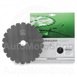 Brush Cutter Blade 200 x 25.4 x 1.5 mm. Ratioparts (Germany)