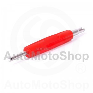 Tire valve screwdriver two sided PKW and LKW 160068