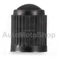 Plastmasas micīte riepas ventilim typ:Schrader melna VC8