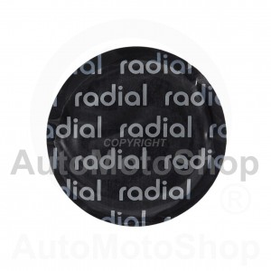 Radial tire repair patch 57mm 16201