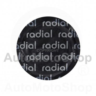 Radiālo riepu remonta ielāps 57mm 16201