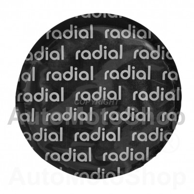 Radial tire repair patch 79mm 16202