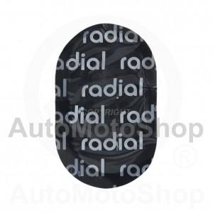 Radiālo riepu remonta ielāps 38mm x 64mm 16203
