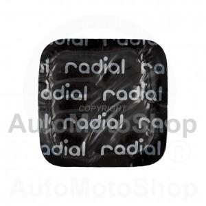 Radiālo riepu remonta ielāps 45mm 16302