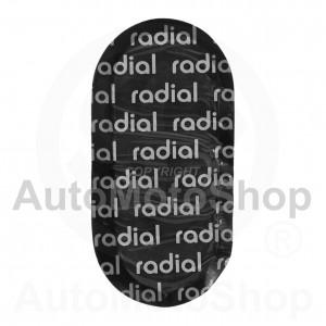 Radiālo riepu remonta ielāps 48mm x 98mm 16204