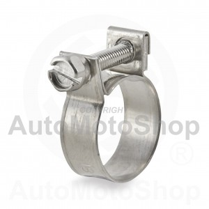 Metal hose Clamp MINI 19mm