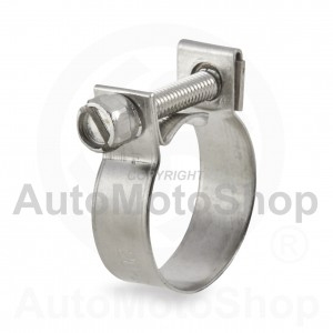 Metal hose Clamp MINI 21mm