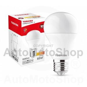 LED TOSHIBA A60 8.5 W (60W) 806Lm 2700K 80Ra ND E27 Spuldze Lampa