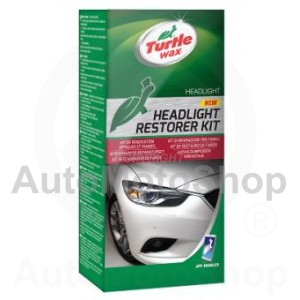 Auto Lukturu Atjaunotājs 2x118ml Headlight Rest Kit Turtle Wax (exT7606)