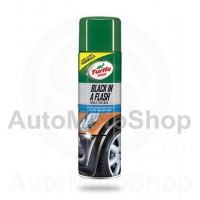 Black In Flash Aerosols Auto Plastmasas Detaļām 500ml Turtle Wax T51777