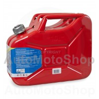 Metal Fuel Canister. Jerry can 10L screw type capping
