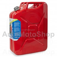 Metal Fuel Canister. Jerry can 20L screw type capping