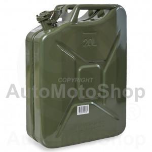 Metāla Degvielas kanna 20L, Zaļa