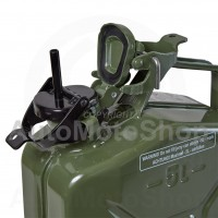 Metal Fuel Canister. Jerry cans Adapter with 1 tube (RAL 9005)