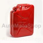 Metāla Degvielas kanna 20L, Sarkana
